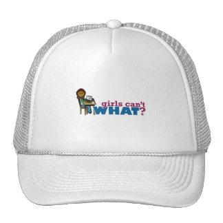 Computer Girl - Dark Mesh Hat