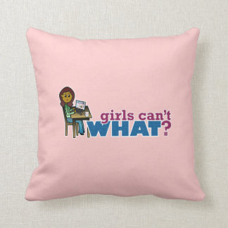 Computer Girl - Dark Pillows