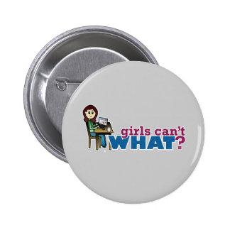 Computer Girl - Light Buttons