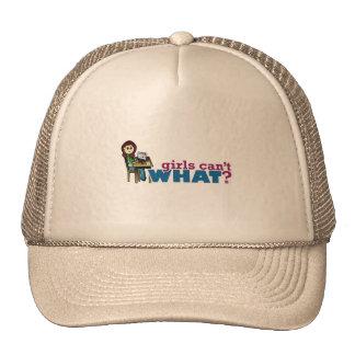 Computer Girl - Light Mesh Hats