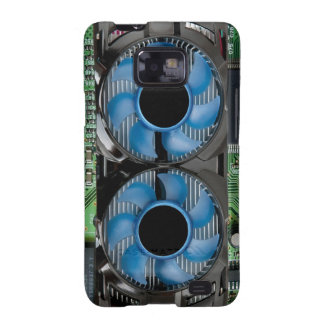 Computer Graphics Card Fans Samsung Galaxy S Case Samsung Galaxy S2 Cases