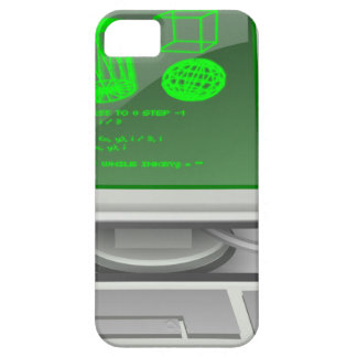 Computer Green Screen iPhone SE/5/5s Case