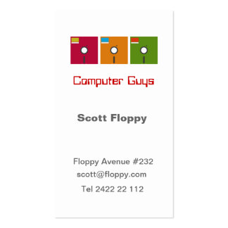 Computer Guy Business Card