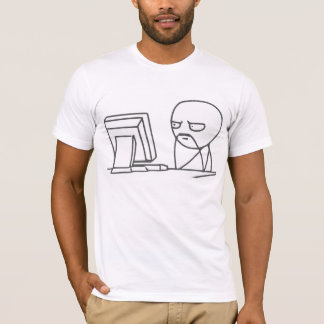 Computer Guy Meme - 2-sided AA T-Shirt