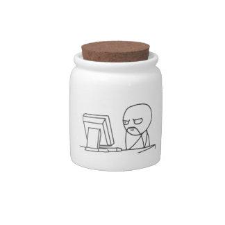 Computer Guy Meme - Candy Jar