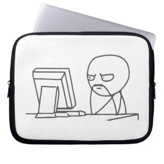 Computer Guy Meme - Laptop Sleeve