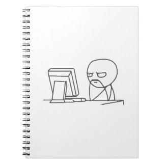 Computer Guy Meme - Notebook