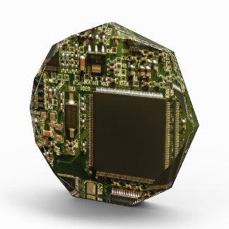 Computer Hard Drive Circuit Board Acrylic Award