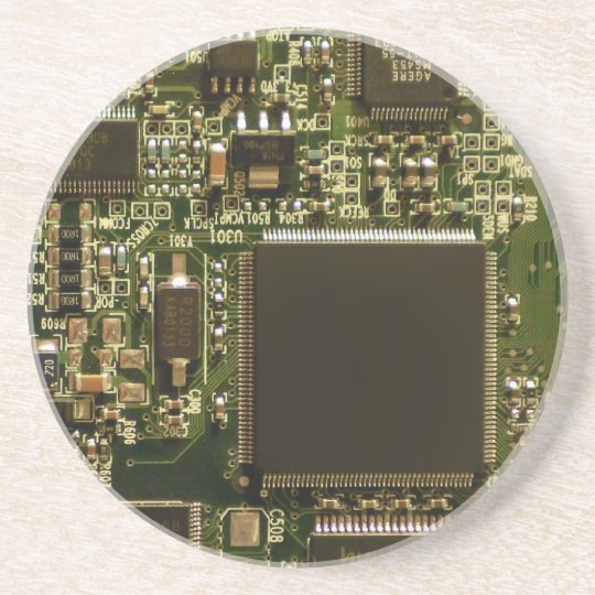 Computer Hard Drive Circuit Board Coaster