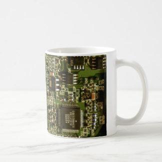 Computer Hard Drive Circuit Board Coffee Mug