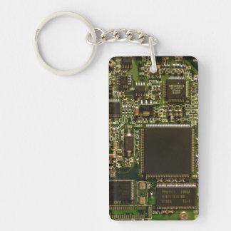 Computer Hard Drive Circuit Board Keychain
