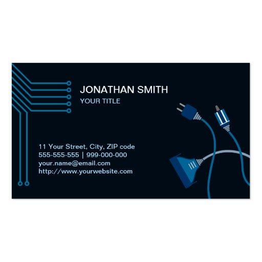Computer Hardware Technician business card