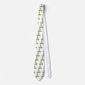 computer head neck tie