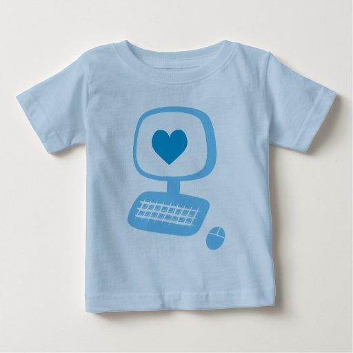 Computer Heart Infant T-Shirt
