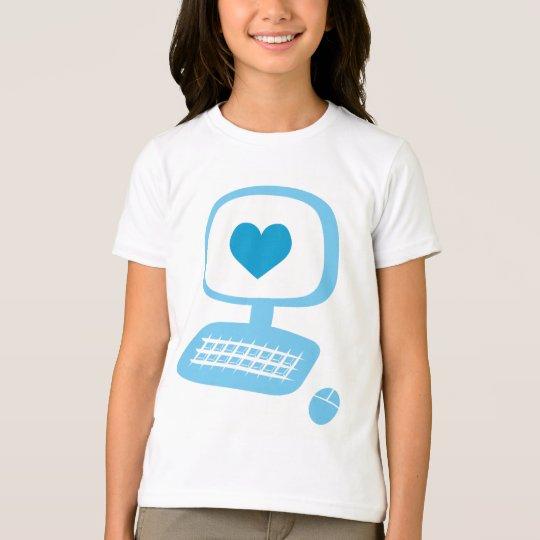 Computer Heart T-Shirt