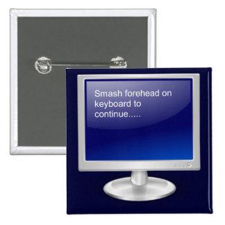Computer Humor II Button