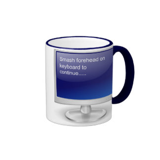 Computer Humor II Ringer Mug