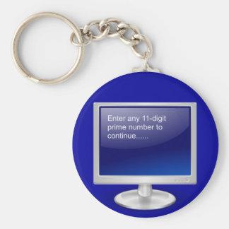 Computer Humor Keychain