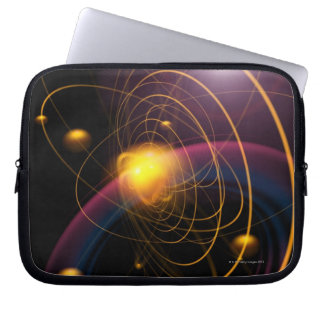 Computer illustration technique 2 laptop sleeve