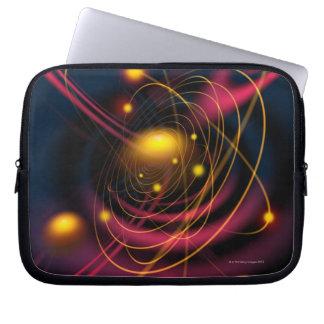Computer illustration technique laptop sleeve