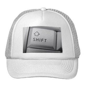 Computer key hat
