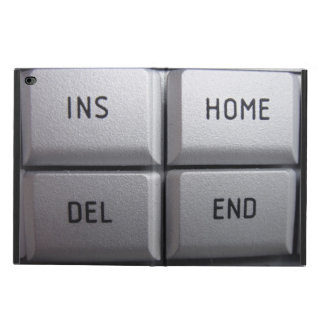 Computer key iPad case