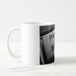 Computer key mug