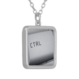 Computer key necklace