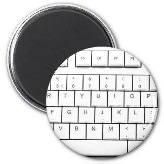 computer keyboard 2 inch round magnet