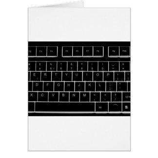 computer keyboard cards