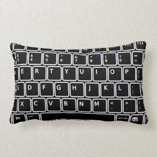 Computer Keyboard Design Throw Pillow