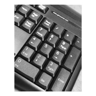 Computer keyboard flyer