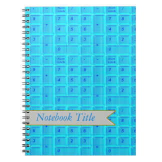 Computer Keyboard Numbers Journal Notebook