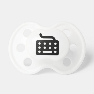Computer Keyboard Baby Pacifiers