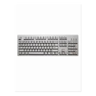 computer keyboard postcards