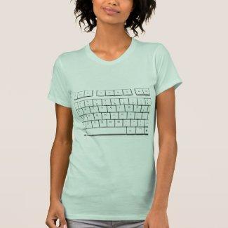 computer keyboard tshirt