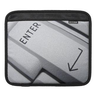 Computer keys iPad sleeve