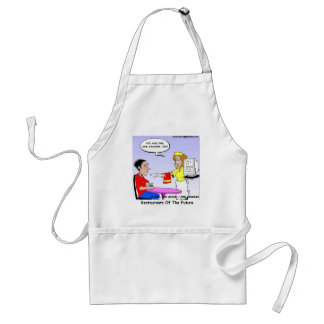 Computer Links Funny Cartoon Gifts & Collectibles Adult Apron