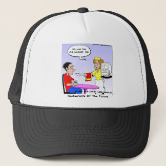 Computer Links Funny Cartoon Gifts & Collectibles Trucker Hat