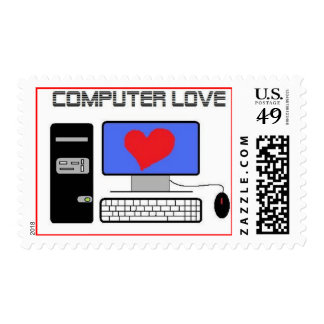 Computer Love Stamps