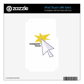 Computer Lover Skins For iPod Touch 4G