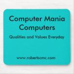 Computer Mania Computers Mousepad