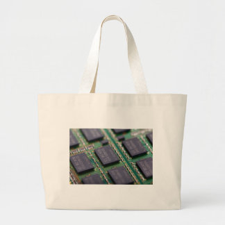 Computer Memory Chips Canvas Bags