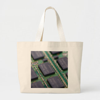 Computer Memory Chips Tote Bag