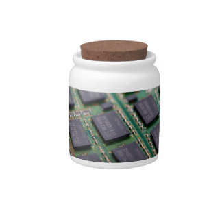 Computer Memory Chips Candy Jars
