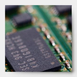 Computer Memory Chips Envelope