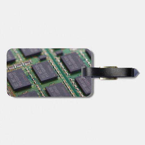 Computer Memory Chips Luggage Tag
