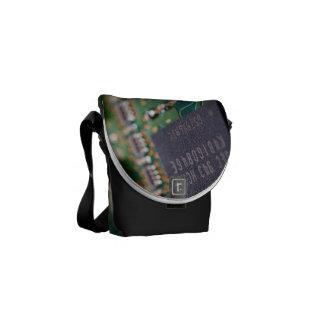Computer Memory Chips Commuter Bag