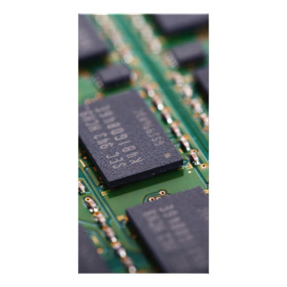 Computer Memory Chips Picture Card