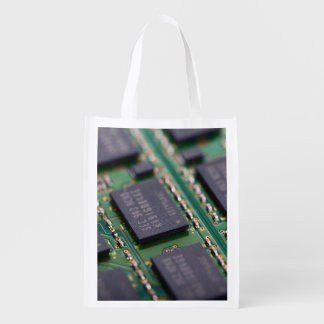 Computer Memory Chips Grocery Bag